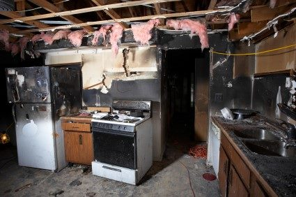 Fire damage repair by RDS Fire & Water Damage Restoration