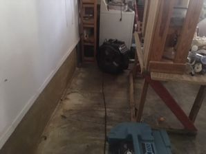 Water Damage from a Dishwasher Leak in Mineral Wells, TX (2)
