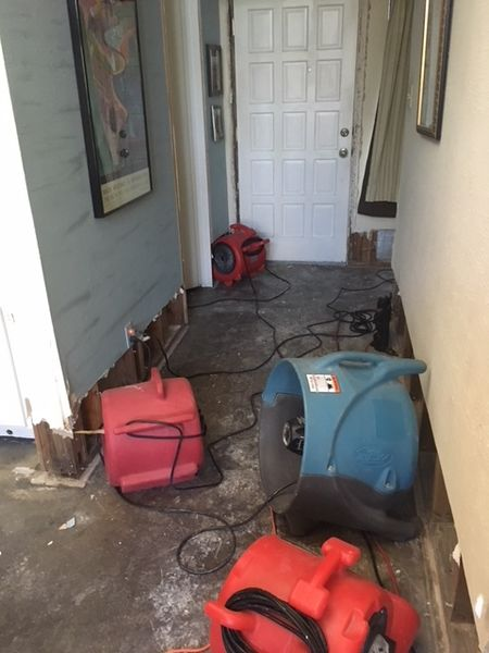 RDS Fire & Water Damage Restoration Burst Pipes in Azle Texas