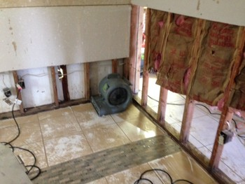 Structure Drying Water Damage Restoration